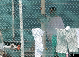 Omar Khadr is seen in Guantanamo Bay's Camp 4 on Saturday, Oct. 23, 2010, days before the 24-year-old Canadian was convicted of five war crimes and sentenced to eight more years.