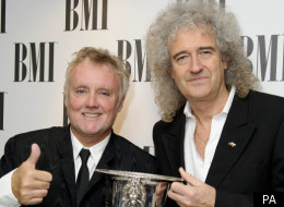 Roger Taylor and Brian May of Queen who announced Sonisphere Festival is cancelled