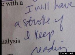 Teachers' Funniest Comments
