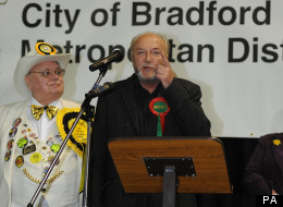 George Galloway giving his victory speech in Bradford this morning.