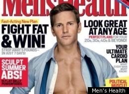 Rep. Aaron Schock on the cover of Men's Health last summer.