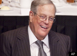 David Koch is major funder of independent groups, like Americans for Prosperity, that would be forced to disclose their donors for