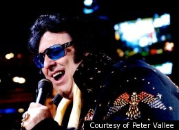 At 500 pounds, Peter Vallee is the world's largest Elvis impersonator. He was nearly 960 pounds at his peak and wants to get down to 280 pounds.