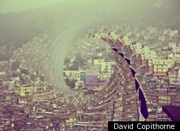Favelas feel a little giddy