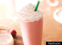 Starbucks' Strawberries & Creme Frappuccino currently contains cochineal extract, a product made from dried and crushed beetles.