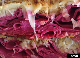 The reuben sandwich at Locali. (Locali)
