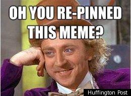The Pinterest Backlash: Condescending Wonka Memes