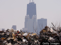 Until Chicago has a city-wide recycling plan in place, lots of recyclable materials will end up here.
