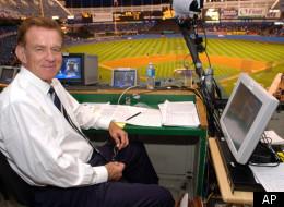 Baseball announcer Tim McCarver.