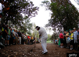 Bubba Watson won the 2012 Masters in part due to an amazing
