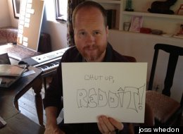 Joss Whedon proves he's Joss Whedon to Reddit.