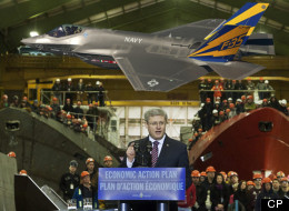 Prime Minister Stephen Harper addresses the crowd at the Halifax Shipyard in Halifax on Thursday, Jan. 12, 2012. The federal government and Irving Shipbuilding Inc. have reached an agreement in principle to build the navy's next fleet of warships. (THE CANADIAN PRESS/Andrew Vaughan)