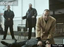 Hands Off: Vinnie Jones' ad has been cleared by a complaints watchdog
