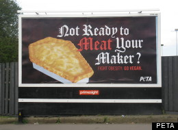 Animal Rights: Peta hopes that the advert will encourage people to go vegan