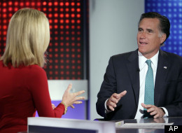 Mitt Romney is interviewed on Wednesday by Fox News host Martha MacCallum.