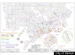 Detroit's city plan for bike lanes and other infrastructure shows increased attention to cycling in the city. See <a href=