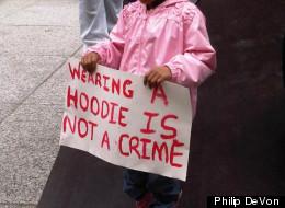 Chicagoans rallied for Trayvon Martin last month.