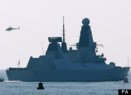 HMS Dauntless is currently patrolling the seas around the Falklands