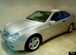 A picture of a car similar to the one Agim Hoxha was found in, released by police