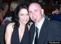Anthony Hensley -- seen here with his wife, Amy -- died after a swan attacked him and his kayak capsized.