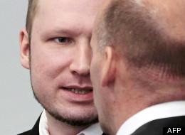 Anders Behring Breivik ce lundi à son procès.
