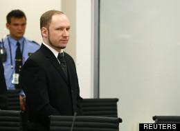 Anders Breivik à Oslo le 18 avril