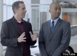 A scene from an Acura ad now facing controversy over discrimination in casting.