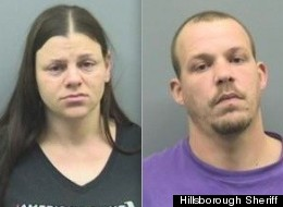 Police say that this Florida couple used their baby's bedroom as part of a marijuana grow house.