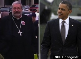 Peoria Catholic Bishop Daniel Jenky on Saturday said that President Barack Obama is on a