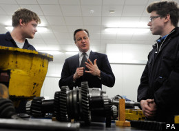 Cameron has vowed to tackle apprenticeship snobbery