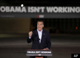 Republican presidential candidate and former Massachusetts Gov. Mitt Romney speaks in Lorain, Ohio, Thursday.