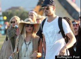 Fergie, au festival du musique américain Coachella. (HuffPost France)