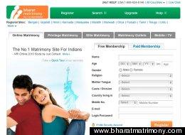 www.bharatmatrimony.com