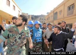 SHAAM NEWS NETWORK / AFP