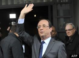 François Hollande remporte le premier tour des présidentielles en France, le 22 avril 2012. (AFP)
