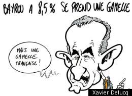 Photos: La journée des élections françaises en dessins.