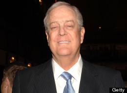 David Koch attends the 2011 New York City Opera Spring Gala at David H. Koch Theater, Lincoln Center on April 21, 2011 in New York City. (Photo by Marc Stamas/Getty Images)