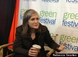 Amy Goodman at the Green Festival