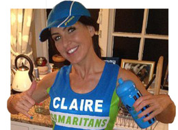 Claire Squires was reportedly running for her dead brother