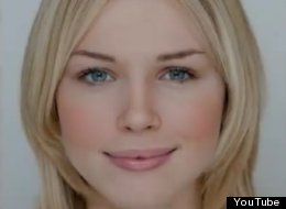 Florence Colgate, 18, the winner of a beauty contest held by Lorraine Cosmetics, is said to have near-perfect facial proportions.