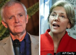 Senate candidates Bob Kerrey and Elizabeth Warren have taken two different stances on Iran.