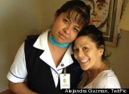 Alejandra Guzmán se despide de sus enfermeras