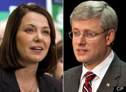 Members of Stephen Harper's Alberta caucus, some of whom loudly backed the upstart Wildrose party, watched the provincial election in stunned disbelief, according to insiders. (CP File Photos)