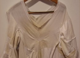 Remove sweat stains without ruining your clothes for Sweat stains on colored shirts