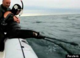 Philippe Croizon plans to swim around the world -- limbless.