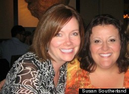 Susan Southerland (right) had to lay off her best friend, Michele Butler, when the recession hit her business hard.