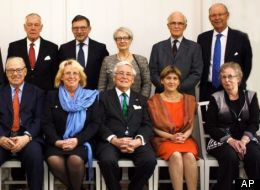 When a Swedish government official invited current or former top politicians and diplomats to a formal dinner focusing on an ongoing environment conference, at Sweden's government headquarters in Stockholm, she invited Margareta Winberg. The wrong Margareta Winberg. However, this imposter happily accepted and is sitting front right.