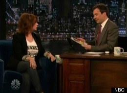 Caroline Manzo scares Jimmy Fallon on