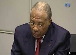 Charles Taylor, le 26 avril 2012