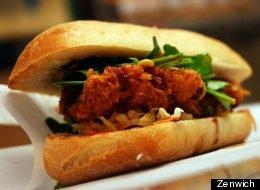 Pork Katsu sandwich from Zenwich.